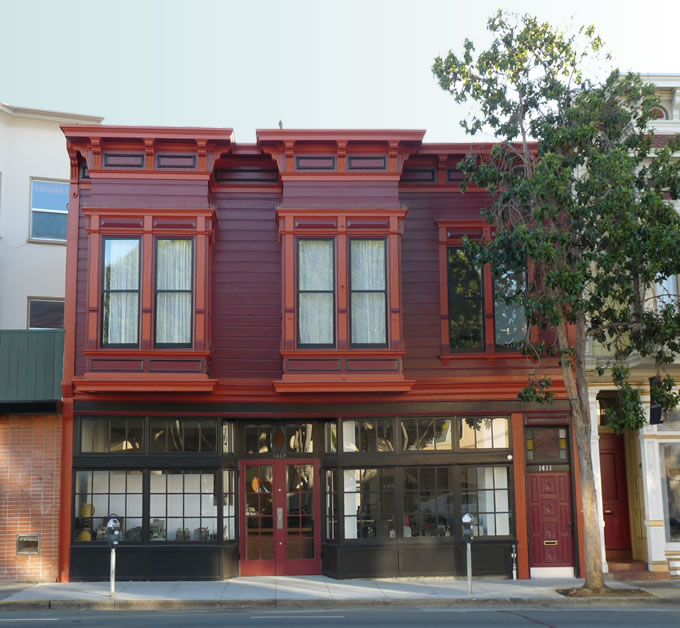 Photo of Movette Film Transfer building at 1407 Valencia St. San Francisco, CA 94110